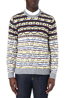 MARC BY MARC JACOBS Finsbury Fair Isle jumper