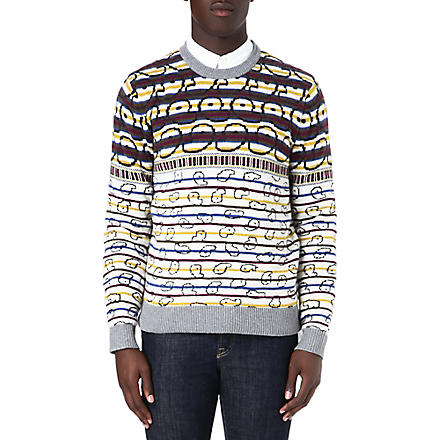 MARC BY MARC JACOBS Finsbury Fair Isle jumper (Snowflake