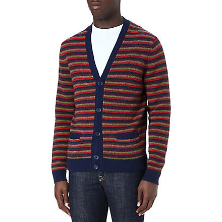 MARC BY MARC JACOBS Finsbury stripe cardigan (Charcoal