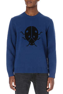 MARC BY MARC JACOBS Ladybug knitted jumper