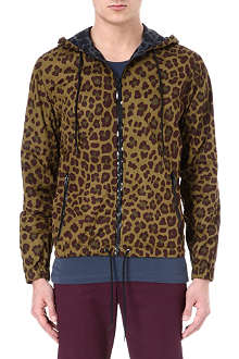 MARC BY MARC JACOBS London leopard nylon jacket