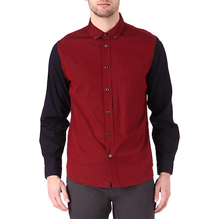 MARC BY MARC JACOBS Oxford contrast shirt (Wineberry