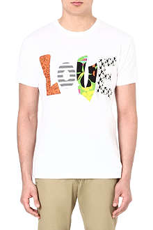 MARC BY MARC JACOBS Cotton appliqué t-shirt