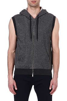 MARC BY MARC JACOBS San Diego sleeveless zip-up hoody