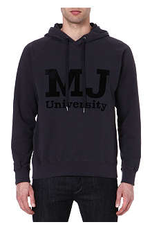 MARC BY MARC JACOBS MJ University cotton hoody