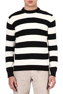 MARC BY MARC JACOBS Striped lurex jumper