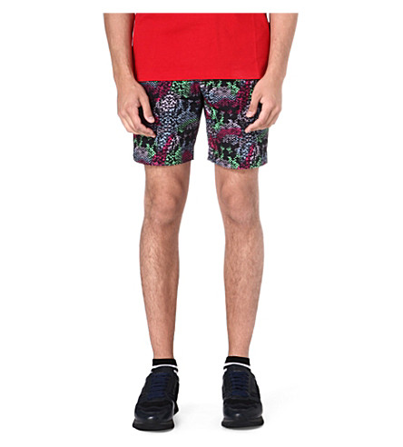 MARC BY MARC JACOBS Rex snake-print shorts (Multi