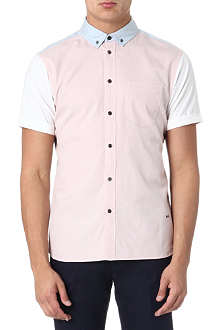 MARC BY MARC JACOBS Colourblocked short-sleeve shirt