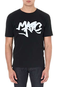 MARC BY MARC JACOBS Graffiti logo t-shirt
