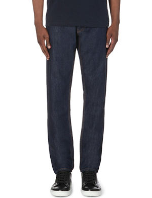 MARC BY MARC JACOBS Slim-fit tapered low-rise jeans