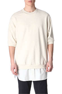 3.1 PHILLIP LIM Shirt-tail sweatshirt