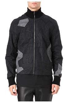3.1 PHILLIP LIM Flannel patchwork jacket