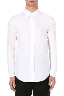 3.1 PHILLIP LIM Jersey-sleeve shirt