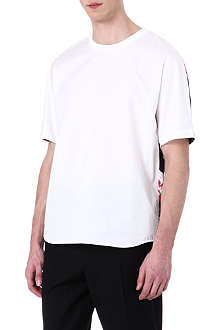 3.1 PHILLIP LIM Floral-back cotton t-shirt