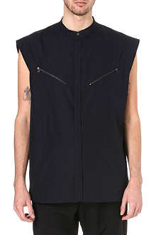 3.1 PHILLIP LIM Sleeveless zip-detail shirt