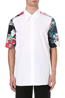 3.1 PHILLIP LIM Floral panel shirt