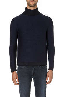 FOLK Toggle rib jumper