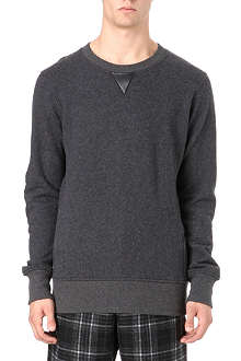 Y3 Boiled wool sweatshirt