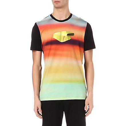 Y3 Hotrod printed t-shirt (Black/multi