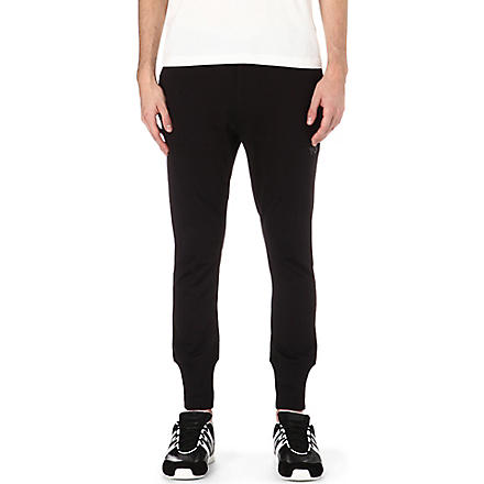 Y3 Jersey jogging bottoms (Black