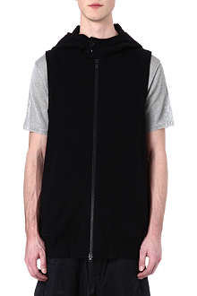 Y3 Sleeveless cycle hoody