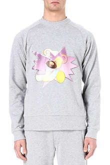 Y3 Teddy cotton sweatshirt