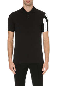 Y3 Logo polo shirt