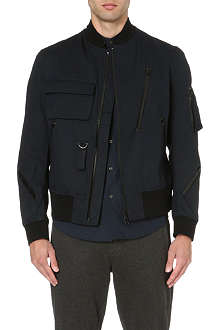 Y3 Zip bomber jacket