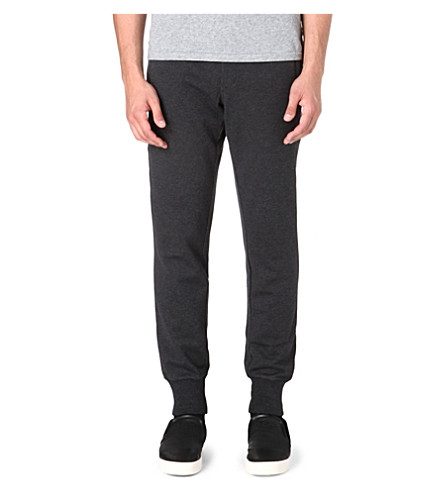 Y3 Cuffed jogging bottoms (Charcoal