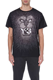 Y3 Lion face t-shirt