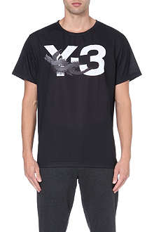 Y3 Dragon logo t-shirt