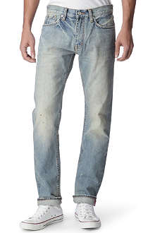 BILLIONAIRE BOYS CLUB Classic Helmet slim-fit straight jeans
