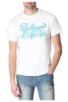 BILLIONAIRE BOYS CLUB Loopy logo cotton t-shirt