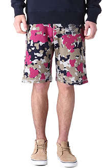 BILLIONAIRE BOYS CLUB Camo-print shorts