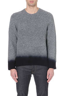 ACNE Chet dip-dye wool jumper