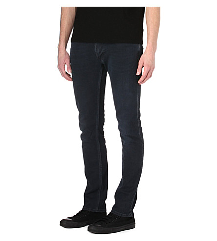 ACNE STUDIOS Max Man Ray slim tapered jeans (Black