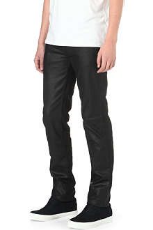 ACNE Ace Mamba coated slim-fit skinny jeans
