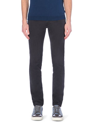 ACNE Mid-rise slim-fit jeans