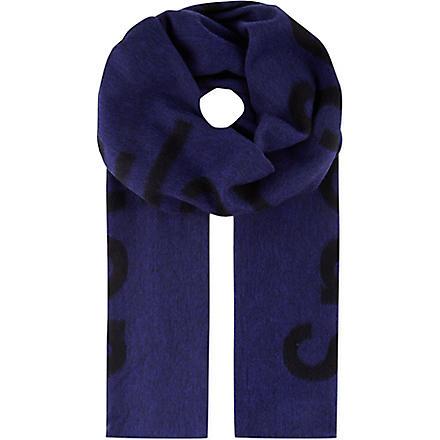 ACNE Canary Spectacular Sensation scarf (Blue