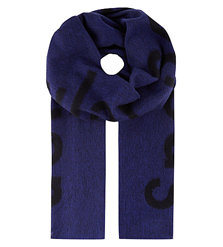 ACNE Canary Spectacular Sensation scarf (Blue