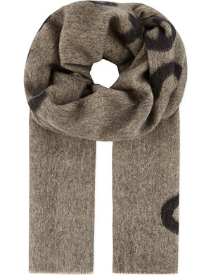 ACNE Canary Spectacular Sensation scarf