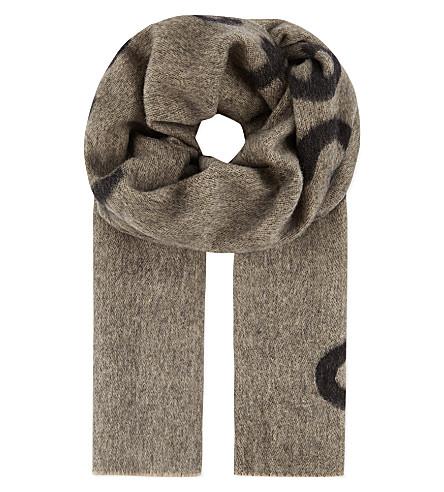 ACNE Canary Spectacular Sensation scarf (Black