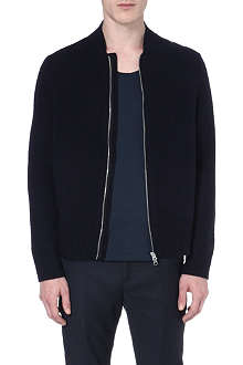 ACNE Chet zip-up wool cardigan