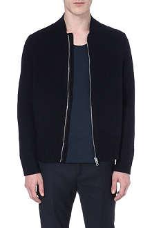 ACNE Chet zip-up wool cardigan