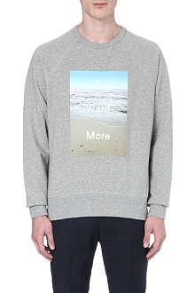 ACNE I Want More cotton sweatshirt