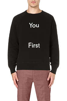 ACNE You First sweatshirt
