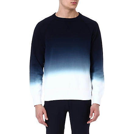 ACNE Faded college sweatshirt (Blue