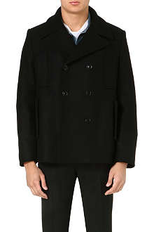 ACNE Wool peacoat