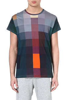 ACNE Fine-print square t-shirt