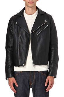 ACNE Gibson leather biker